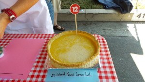 World Peace Lemon Tart