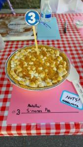 Nutella S'mores Pie