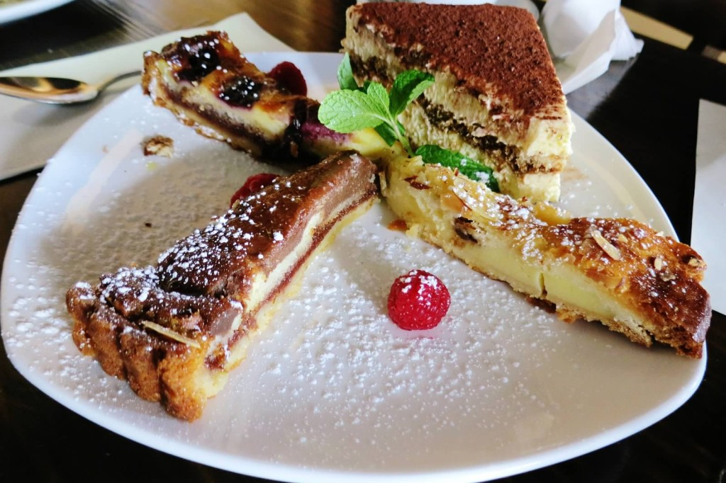 Assorted Dessert--Tiramisu, Torta della Nonna, Torta di cioccolato e arance, Torta di Ciliege
