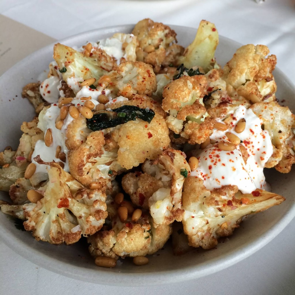 Caramelized Cauliflower