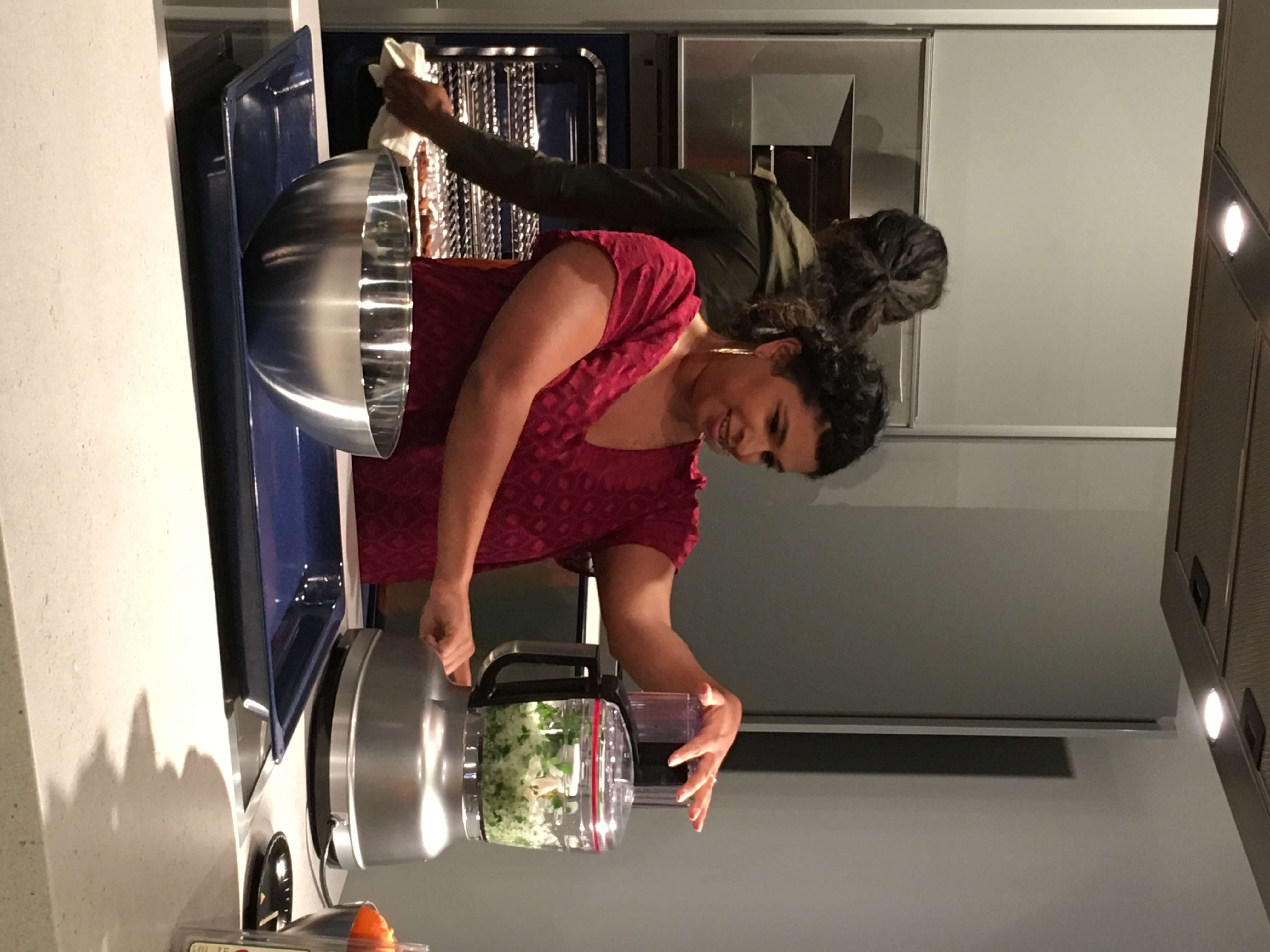 Chef Aarti Sequeira demonstrates making Arais, a Middle Eastern meat-stuffed bread. Delicious and surprisingly easy to make!