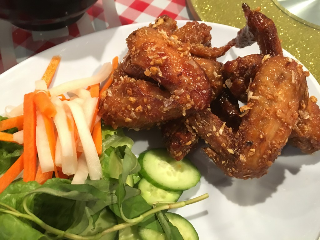 Ike's Vietnamese Fish Sauce Wings. A mush order any time you visit!