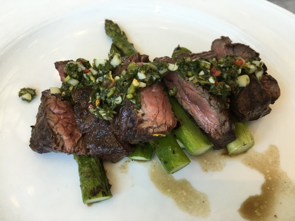 Grilled Hanger Steak